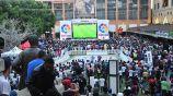 La experiencia del fan fest del Clásico de España