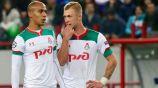 Jugadores del Lokomotiv durante un duelo