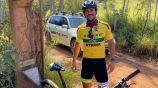 Fred recorrerá 600 kilómetros en bicicleta