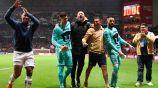 Marcello Capirossi tras una victoria de Pumas en Liga MX