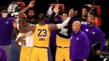 LeBron James tras la victoria de los Lakers ante Clippers