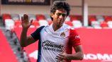 JJ Macías, tras fallar un gol