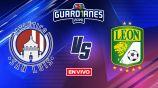 EN VIVO Y EN DIRECTO: San Luis vs León Guardianes 2020 J12
