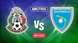 EN VIVO Y EN DIRECTO: México vs Guatemala