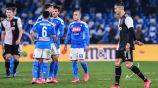Juventus vs Napoli en la Serie A