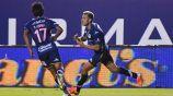 Barrera celebra gol del triunfo ante Querétaro