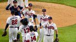 Braves celebran victoria ente Dodgers en el Juego 4