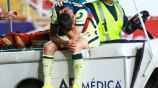 Benedetti llora tras salir lesionado contra León