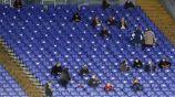 Espectadores en el juego de la Juventus vs Verona