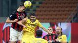 Milan: Zlatan Ibrahimovic rescató el empate ante Hellas Verona