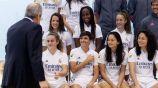 Jugadoras del Real Madrid Femenil en foto oficial