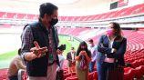 Autoridades del gobierno de Jalisco analizan el Akron