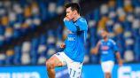 Chucky Lozano festeja un gol