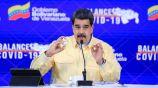 Maduro presentó sus gotas 'milagrosas'