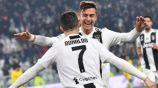 Dybala y Cristiano Ronaldo en un partido de la Juventus