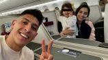 Álvarez con su familia