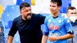 Gennaro Gattuso a Chucky Lozano ante Udinese: '¡Cállate y no me respondas!'