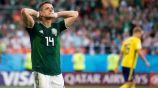 Javier Hernández en lamento con la Selección Mexicana
