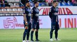 Jugadores de las Chivas previo a un partido de Liga MX