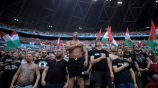 El Ferenc Puskas stadium en Budapest durante la Euro
