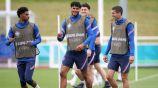 Inglaterra en entrenamiento