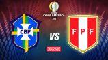 EN VIVO Y EN DIRECTO: Brasil vs Perú
