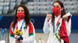 Alejandra Orozco y Gaby Agúndez celebraron mal clavado de la pareja japonesa