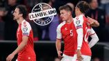 Qatar 2022: Dinamarca venció a Austria y se clasificó al Mundial