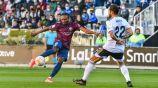 Nwakali en acción con el Huesca