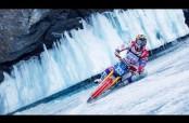 Embedded thumbnail for Recorrido a máxima velocidad sobre un lago congelado