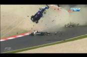 Embedded thumbnail for Impresionante choque en la F3