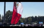 Embedded thumbnail for Bandera de México se rasga en plena ceremonia