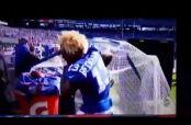 Embedded thumbnail for Odell Beckham Jr. desquita su coraje y se lleva fuerte golpe