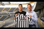 Embedded thumbnail for Eintracht Frankfurt le da la bienvenida a Carlos Salcedo