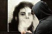 Embedded thumbnail for Michael Jackson a través de un retrato hecho de ligas