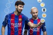 Embedded thumbnail for Gomes y Mascherano describen a sus compañeros con emojis