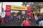 Embedded thumbnail for Así cruzaron la meta miles de corredores en el Adidas 12K
