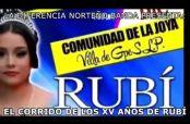 Embedded thumbnail for XV años de Rubi inspira nuevo corrido