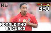 Embedded thumbnail for Ronaldinho desborda magia con el Cienciano de Perú