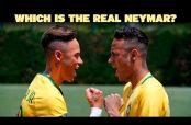 Embedded thumbnail for Neymar, admirado por conocer a su figura de cera