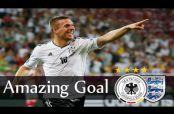 Embedded thumbnail for Podolski dice adiós a la selección alemana con golazo