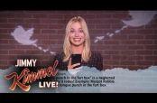 Embedded thumbnail for Margot Robbie y otros artistas leen 'mean tweets'
