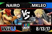 Embedded thumbnail for Nairo vence a MKLeo en Super Smash Con 2017