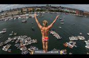 Embedded thumbnail for Top 3 de clavados de la Serie Mundial de Cliff Diving en Copenhague
