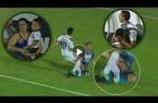 Embedded thumbnail for Jugador paraguayo se fractura la pierna tras choque con rival