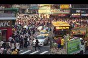 Embedded thumbnail for Snorlax aparece en Taiwan y desata estampida humana