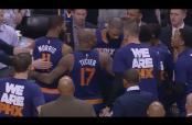 Embedded thumbnail for Jugadores de los Suns protagonizan riña en su banca