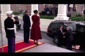 Embedded thumbnail for Barack y Michelle Obama reciben a los Trump en la Casa Blanca