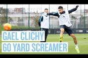 Embedded thumbnail for Clichy anota golazo de 55 metros en práctica del City