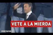 "Embedded thumbnail for Luis Enrique explota contra Mascherano y le grita ""vete a la mier..."""